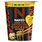 Naked Noodle Egg Noodle Chinese Firecracker Chicken