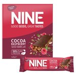 Nine Cocoa Raspberry Seed Bars