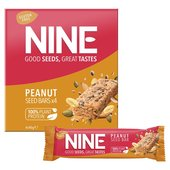 Nine Peanut Seed Bars
