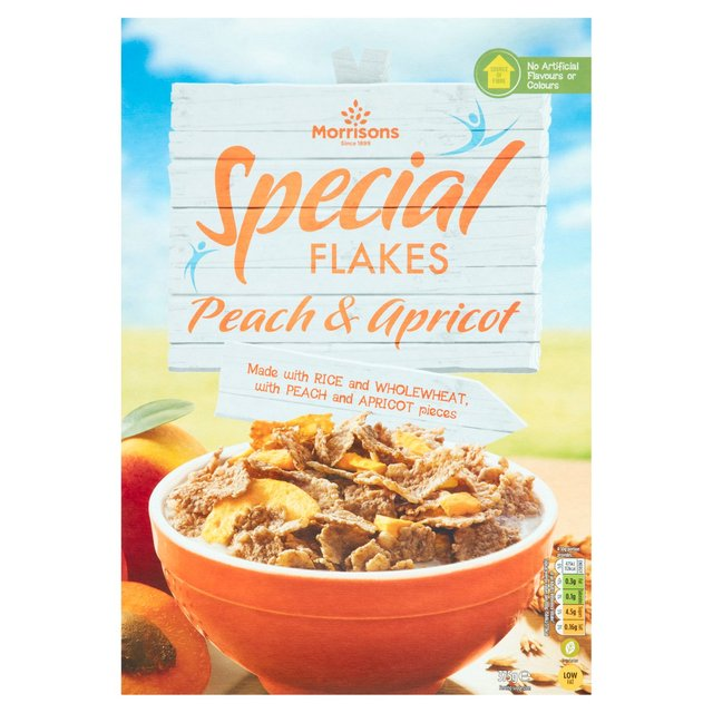 Morrisons Special Flakes Peach & Apricot