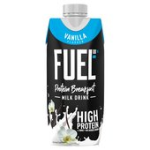 Fuel 10K High Protein Liquid Breakfast Vanilla