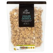 Morrisons The Best Cacoa Nib & Coconut Granola
