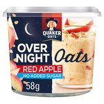 Quaker Oats Over Night Oats Red Apple