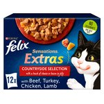 Felix Sensations Extras Meaty Selection