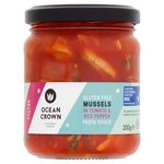 Ocean Crown Gluten Free Mussels In Tomato & Red Pepper Pasta Sauce