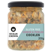 Ocean Crown Gluten Free Cooked & Pickled Cockles