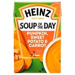 Heinz Soup of the Day Spiced Pumpkin, Sweet Potato & Carrot