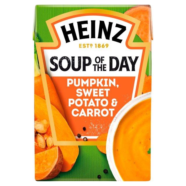 Heinz Soup of the Day Spiced Pumpkin, Sweet Potato & Carrot Soup