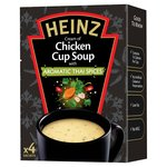 Heinz Cream of Chicken Soup with Aromatic Thai Spices 4 Sachets