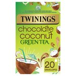 Twinings Chocolate Coconut GreenTea 20 Bags