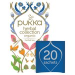 Pukka Herbal Collection, Selection of Five Organic Herbal Teas, 20 Sachets