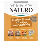 Naturo Adult Dog Chicken, Lamb & Rice With Vegetables