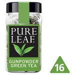 Pure Leaf Gunpowder Green Tea 16 Pyramid Bags