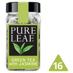 Pure Leaf Green Tea with Jasmine 16 Pyramid Bags