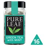 Pure Leaf Green Tea with Mint 16 Pyramid Bags