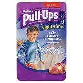 Huggies Pull Ups Night Time Boys Large