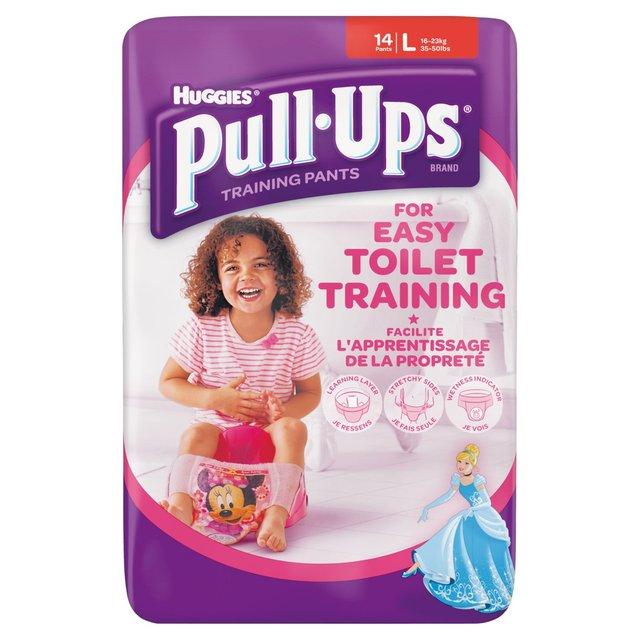 Morrisons Huggies Pull Ups For Easy Toilet Training Girls
