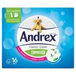 Andrex Classic Clean Compressed Rolls