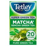 Tetley Super Green Tea Matcha 20 Tea Bags
