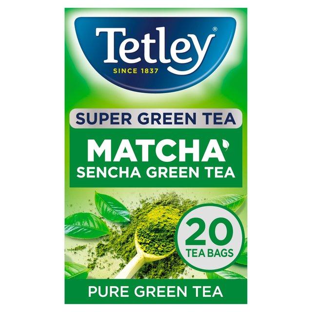 Tetley Super Green Tea Matcha 20 Tea Bags