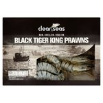 Clear Seas Black Tiger King Prawns