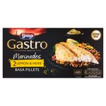 Youngs Gastro Marinades 2 Lemon & Herb Basa Fillets