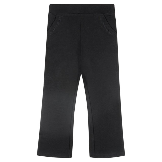 Nutmeg Girls Ponte Bootcut Trousers