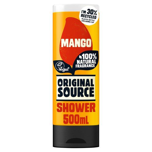 Morrisons original source mango shower gel 500ml product - The body shop mango shower gel ...