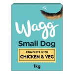 Wagg Chicken & Veg Small Complete Dog Food