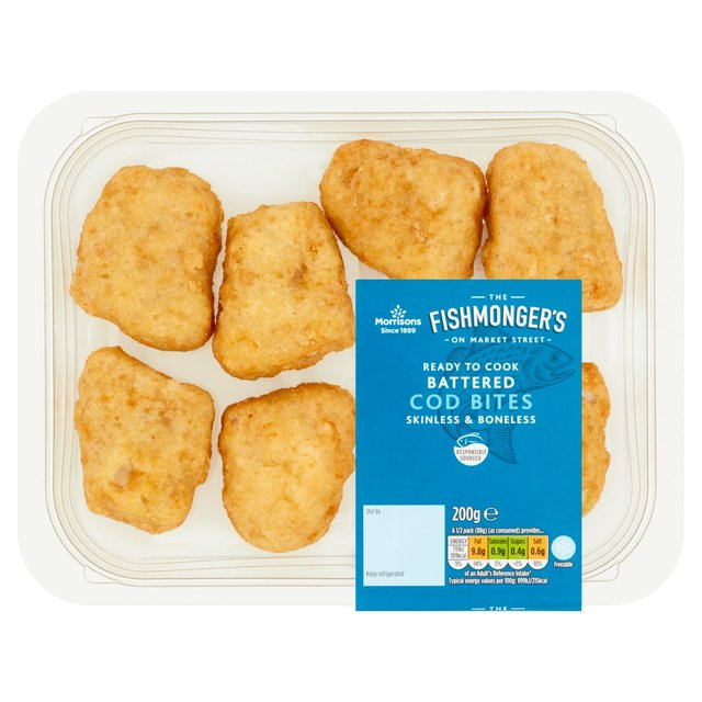 Morrisons Market St Battered Cod Bites