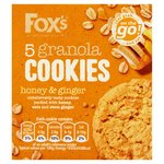 Fox's Honey & Ginger Granola Cookies