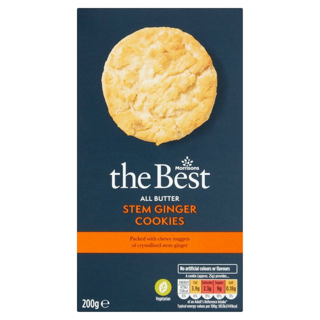 Morrisons The Best Stem Ginger Cookies