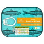 Morrisons Boneless Sardine Fillets with Lemon & Herb Dressing