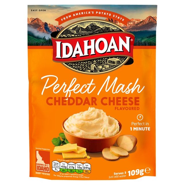 Idahoan Perfect Mash Cheddar Cheese