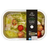 Morrisons The Best Seabass With Pesto & Tomatoes