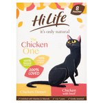 Hilife The Chicken One In Jelly 8 Pouches