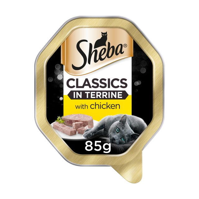 Sheba Tray Classics In Terrine With Chicken