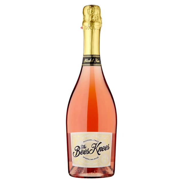 The Bees Knees Alcohol-Free Sparkling Rosé