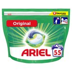 Ariel 3in1 Pods Original Washing Liquid Capsules 55 Washes