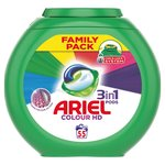 Ariel Colour & Style 3 In 1 Pods Family Pack 55 Washes