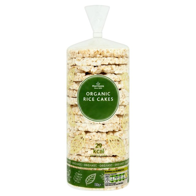 Morrisons The Best Organic Rice Cakes