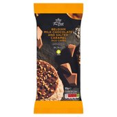 Morrisons The Best Chocolate Salted Caramel Rice Cakes