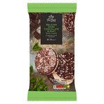 Morrisons The Best Dark Chocolate Mint Rice Cakes