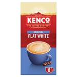 Kenco Flat White Instant Coffee 8 Sachets
