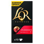 L'Or Espresso Splendente 10 Aluminium Coffee Capsules Intensity 7