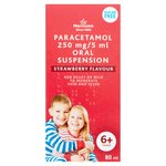 Morrisons Paracetamol 6+ Suspension