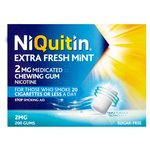 Niquitin Extra Fresh Mint 2mg Medicated Gum