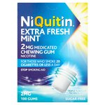 Niquitin Niquitin Extra Fresh Mint 2mg Medicated Gum