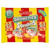 Swizzels Drumstick Squashies Mini Bags 20 Bags