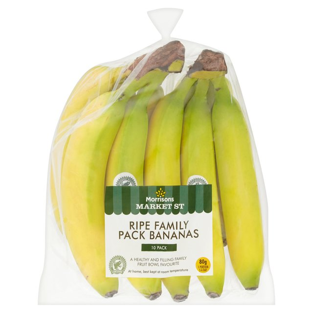 Morrisons Ripe Family Pack Bananas